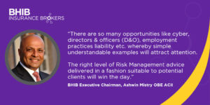 Ashwin Mistry in Insurance Times quote
