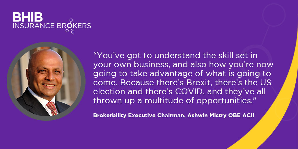 Ashwin quote from Insurance Business Mag