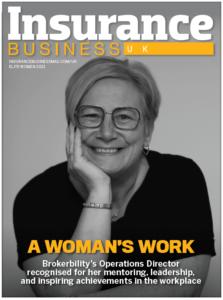 IBUK Julie Rayson-Flynn magazine cover
