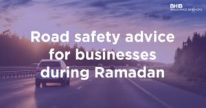 Road safety Ramadan